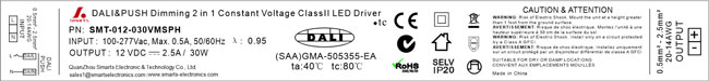 led dimming driver 30w