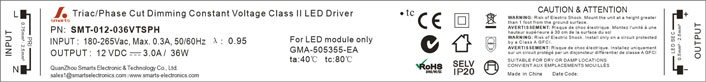 Class 2 LED Drivers Power Supply