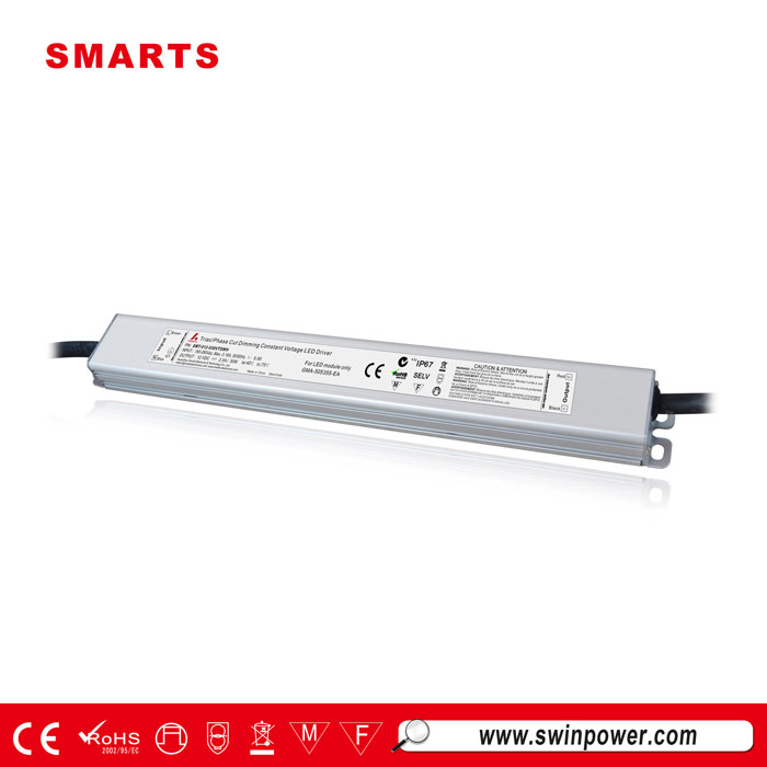 30w slim triac dimmable led driver