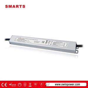 12V 60W Tipo Slim Triac regulable conductor led impermeable