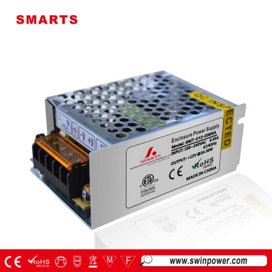 12v dc 3 amp power supply